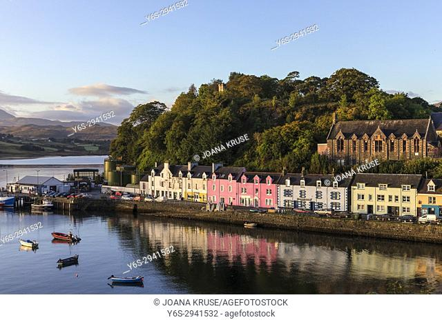 Portree, Isle of Skye, Scotland, United Kingdom
