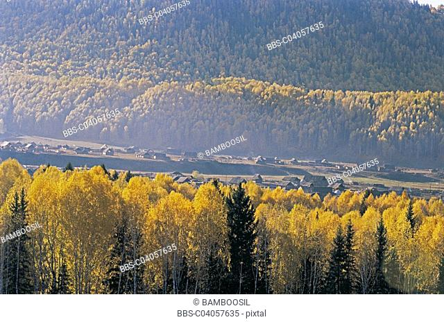 Hemu village, Buerjin County, Xinjiang Uygur Autonomous Region of People's Republic of China