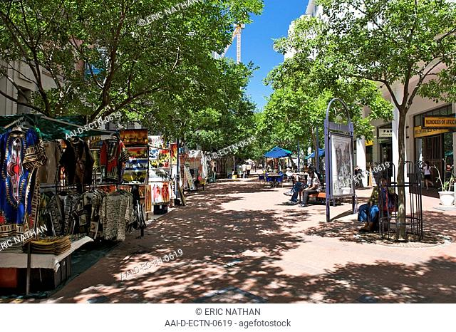 St Georges street mall in Cape Town, South Africa