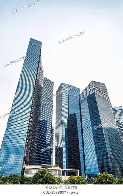 Singapore skyline, Marina Bay