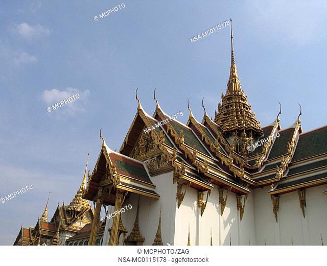 Asia, Thailand, Bangkok, King's Palace, Dusit-Throne hall, Detail
