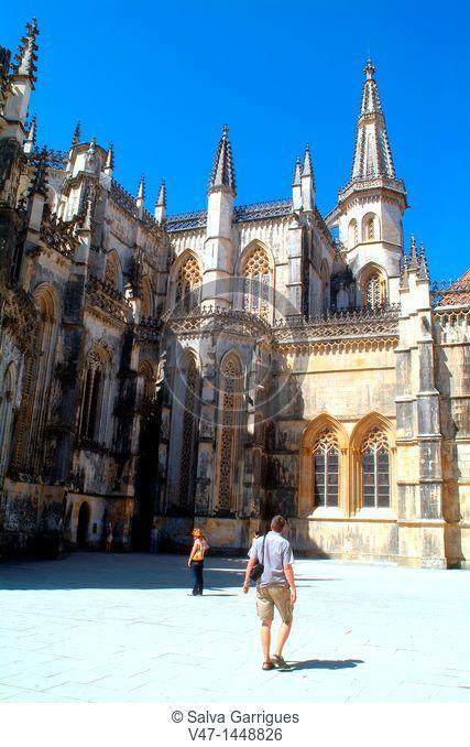 Santa Maria da Vitória, Monastery of Batalha, Portugal, Europe