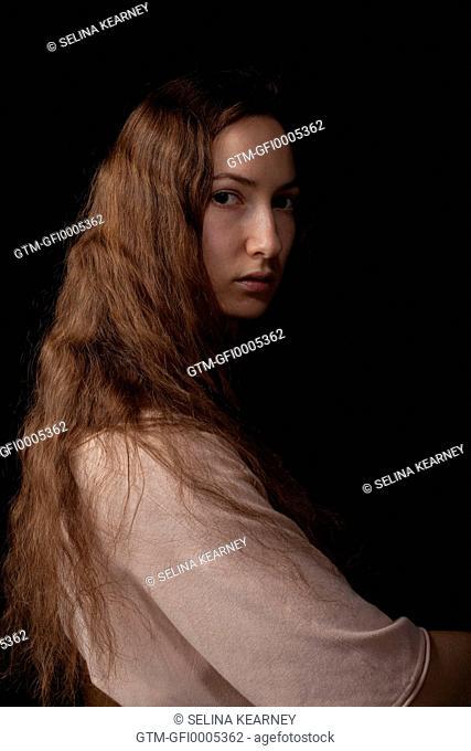Girl Studio Mona Lisa