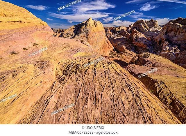 The USA, Nevada, Clark County, Overton, Valley of Fire State Park, White Dome
