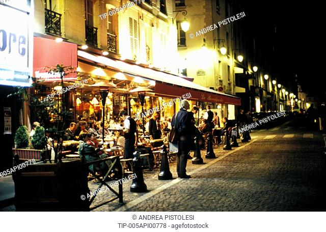 Europe, France, Paris,Latin Quarter, Cafe Bonaparte