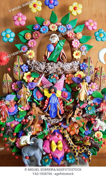 Tree of Life - Mexican Handicrafts from Metepec Region