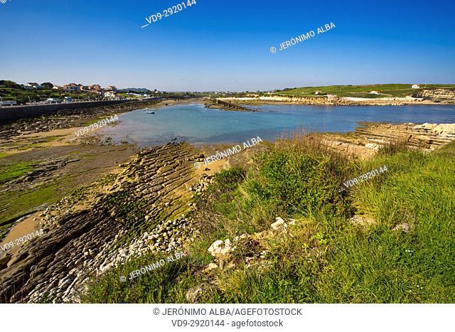 Ria San Pedro del Mar, La Maruca. Cantabrian Sea. Santander, Cantabria Spain. Europe
