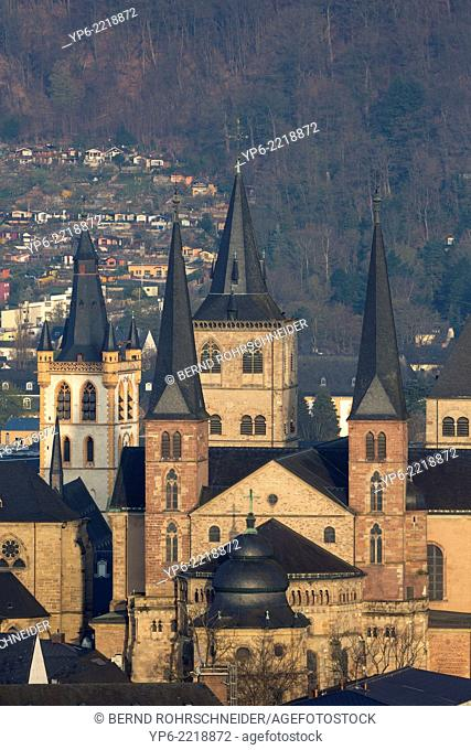 Cathedral of Trier, Church of Our Lady and St. Gangolf's church, World Heritage Site, Trier, Rhineland-Palatinate, Germany