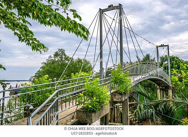 Bridge in Mekong river delta, Vietnam