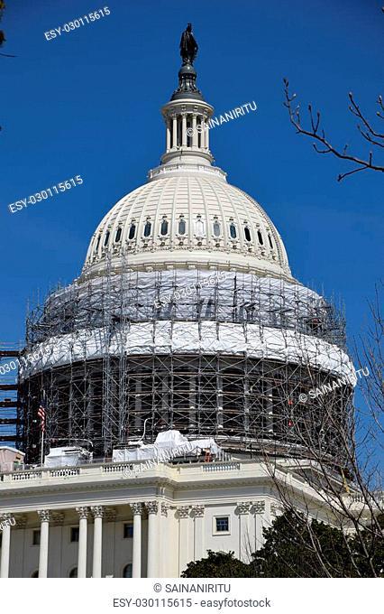US Capitol in Washington DC, USA