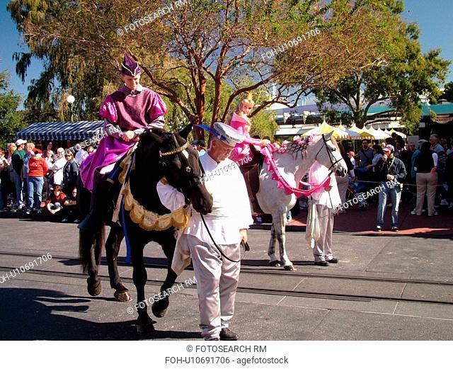 Orlando, FL, Florida, Walt Disney World Resort, Magic Kingdom Park, Main Street U.S.A Parade (Editorial Use Only)
