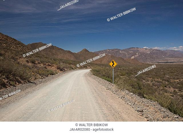 Argentina, Salta Province, Valles Calchaquies, Molinos, along Rt 40