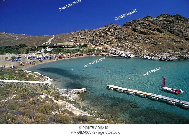 Monastyri Beach, Paros, Cyclades, Greece