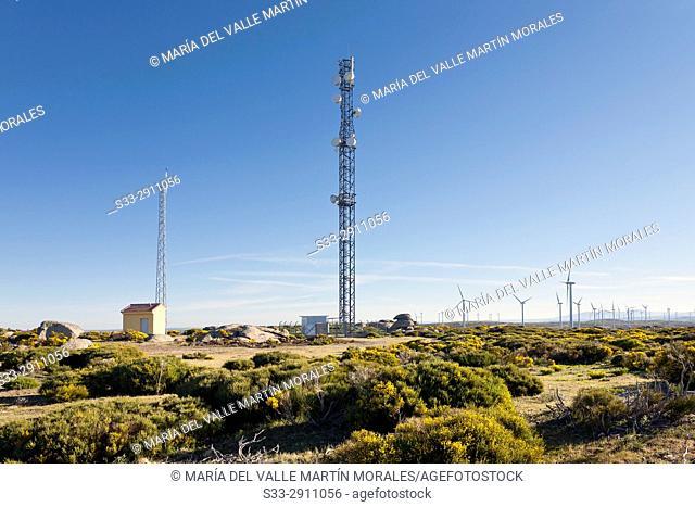 The Pucheruelo eolico park. Avila. Spain