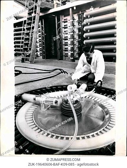Jun. 06, 1964 - Press Visit To Culham Laboratory. Culham Laboratory is the U.K.A.E.A. Centre for plasma and physics and fusion research - the study of the state...