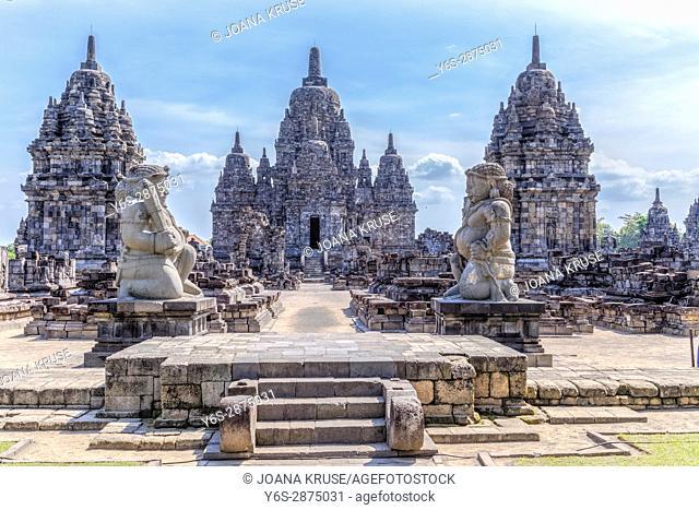 Candi Sewu, Prambanan, Hindu Temple, Yogyakarta, Java, Indonesia, Asia