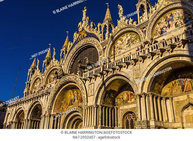 Basilica San Marco, Piazza San Marco, Venice, Italy