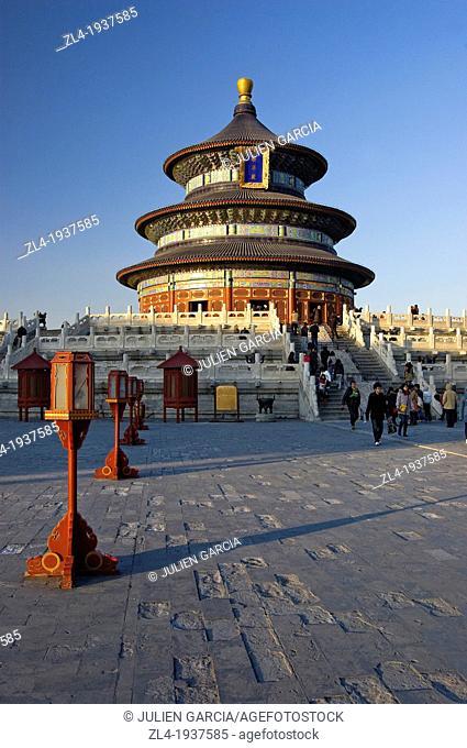 Temple of Heaven in Beijing. China, Beijing