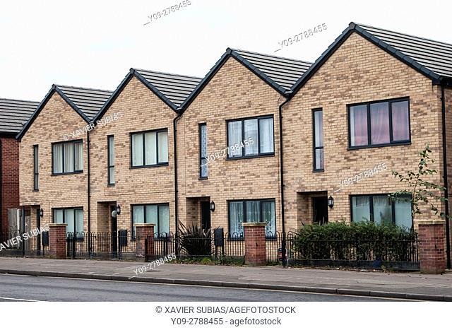 Houses, Manchester, England, United Kingdom