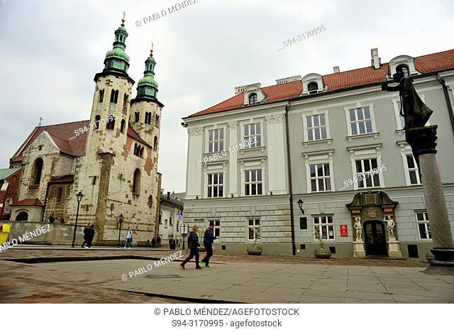 Church of Saint Andrew, Krakow, Poland