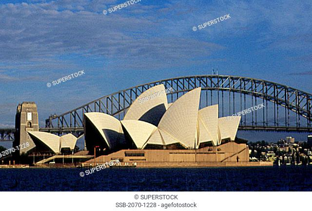 Harbour Bridge Sydney Opera House Sydney Australia