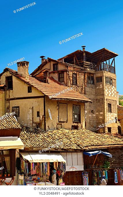 Ottoman style houses of Safranbolu, Turkey. Safranbolu's architecture influenced urban development throughout much of the Ottoman Empire and was a major centre...