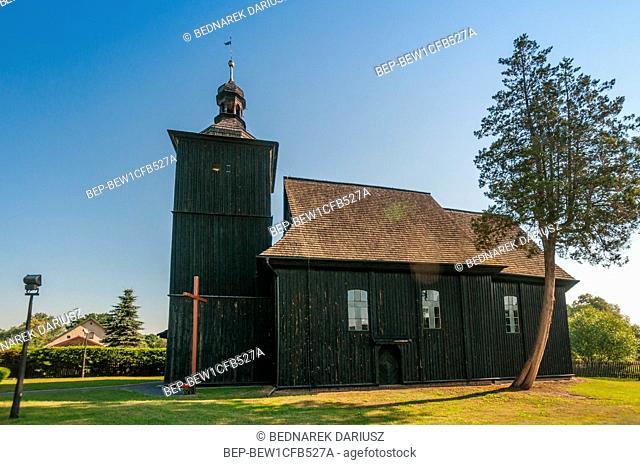 Church of St. John the Baptist in Golkowice, Opole Voivodeship, Poland