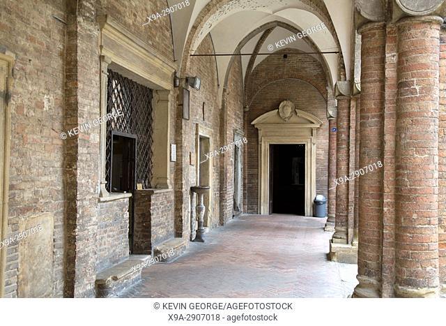 Basilica Church of Santo Stefano Bologna; Italy