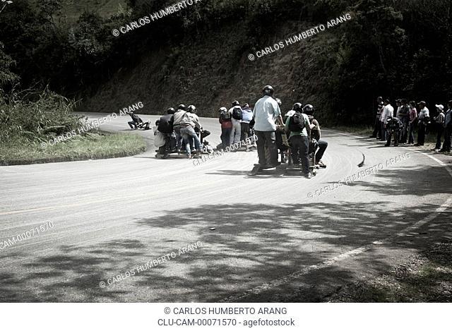 Festival Car Roller, Aburra Valley, Medellin, Antioquia, Colombia