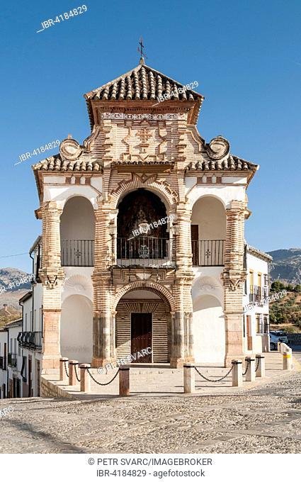 Chapel of Virgen del Socorro, Plaza del Portichuelo, Antequera, Andalusia, Spain