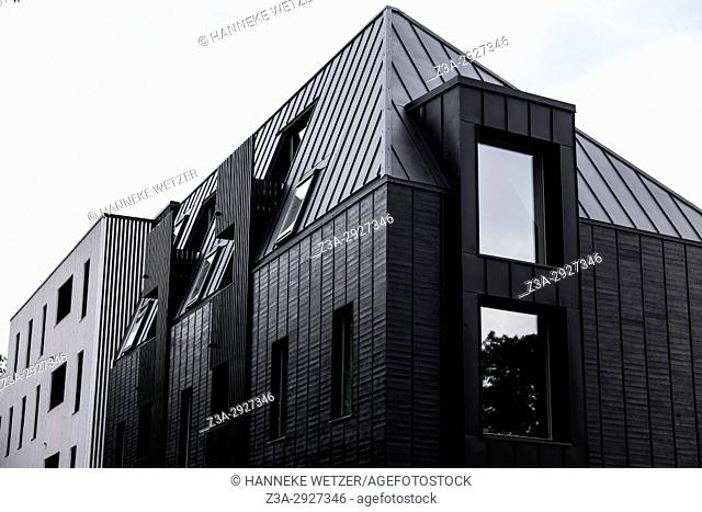 Newly built houses of the Kalamaja area in Tallinn, Estonia, Europe