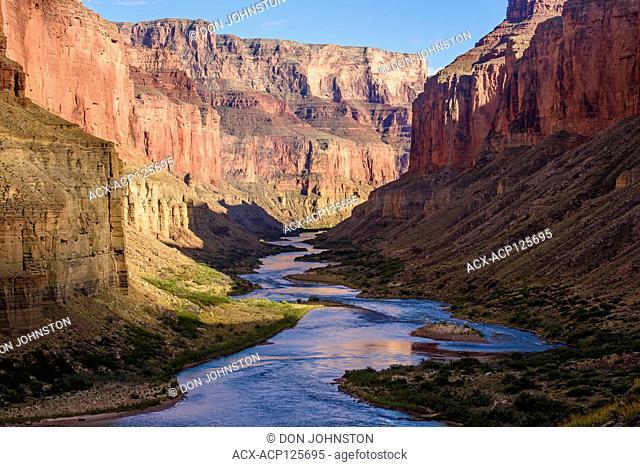 The Colorado River at Nankoweep, Grand Canyon National Park, Arizona, USA