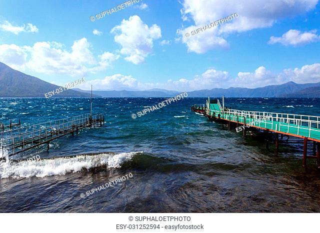 Shikotsu lake
