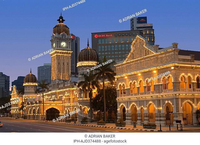 Malaysia - Kuala Lumpur, The Supreme Court building Merdeka Square