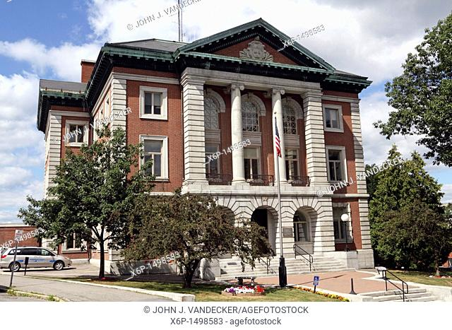 The Penobscot County Courthouse, Bangor, Maine, USA  Bangor is the 3rd largest city in the state and the retail, cultural and service center for central