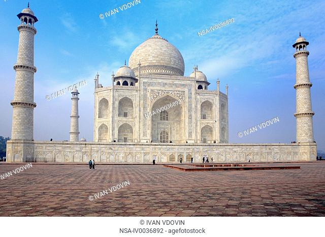 Taj Mahal, mausoleum 1630-1640s, Agra, India