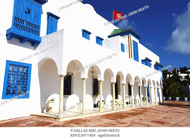 Africa, North Africa, Tunisia, Sidi Bou Said, The Centre of Arab and Mediterranean Music