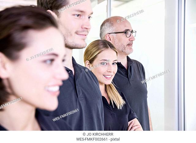 Team of a dental surgery