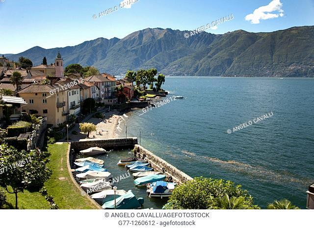 Gerra-Gambarogno, Lake Maggiore, Ticino, Switzerland