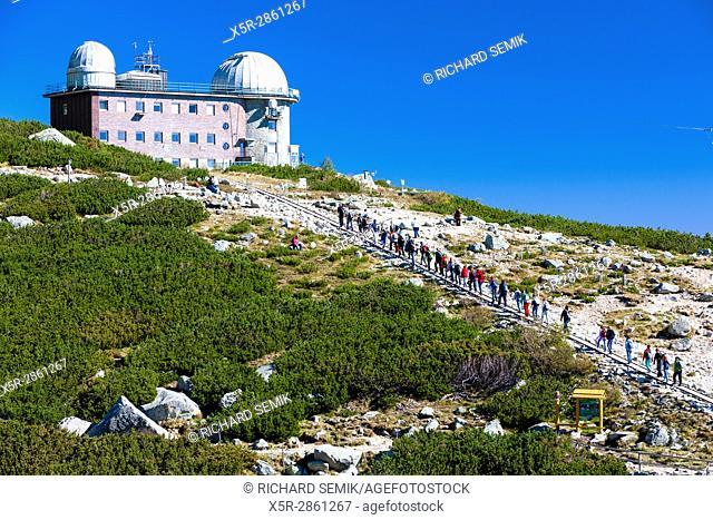 observatory at Rock Tarn (Skalnate pleso), Vysoke Tatry (High Tatras), Slovakia