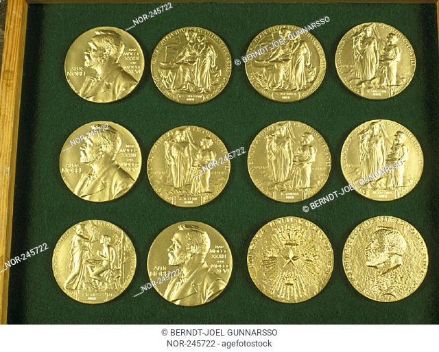 Nobelmedaljer