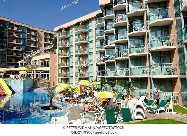 Golden Beach, Hotel, Bulgaria, Black Sea, Zlatni Pjasaci