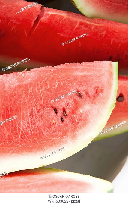 Detail of a watermelon