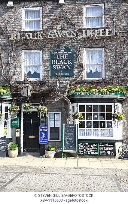 Black Swan Hotel, Leyburn, North Yorkshire, England, UK