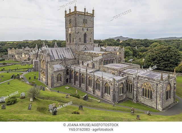 St Davids, Pembrokeshire, Wales, UK, Europe