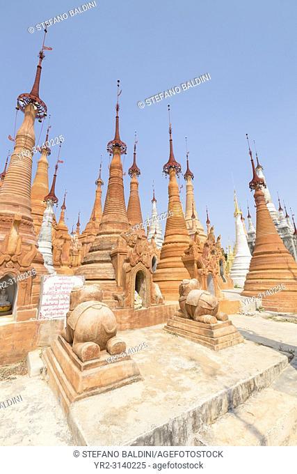 Shwe Inn Thein Paya, Inthein, Inle Lake, Myanmar