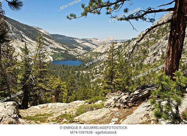 Merced Lake and Half Dome, Yosemite National Park, California, USA
