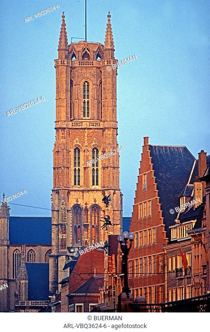 Belgium,Gent,St Baafs cathedral