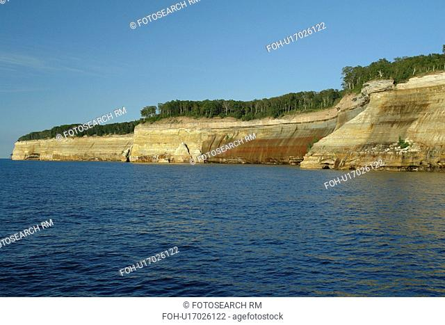Munsing, MI, Michigan, Upper Peninsula, Lake Superior, Pictured Rocks Boat Cruise, Pictured Rocks National Lakeshore