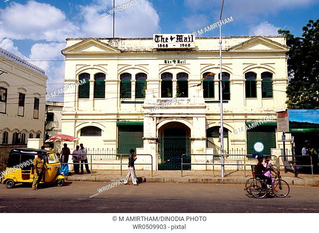 Mail home , Anna Salai , Mount road , Madras Chennai , Tamil Nadu , India